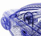 ボディが網状の物質で構成された自動車