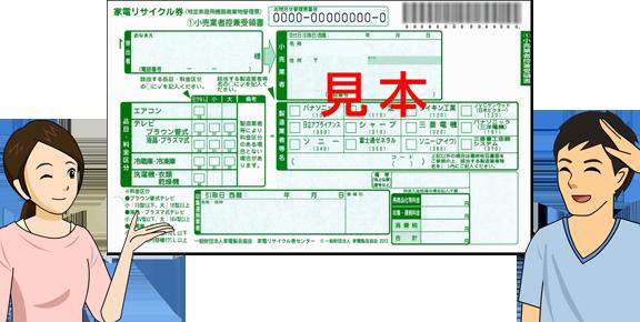 リサイクル券画像